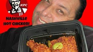 KFC's® Nashville Hot Chicken REVIEW!