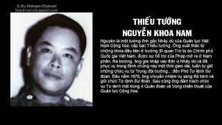 Những vị tướng lãnh VNCH tự sát sau ngày 30/04/1975
