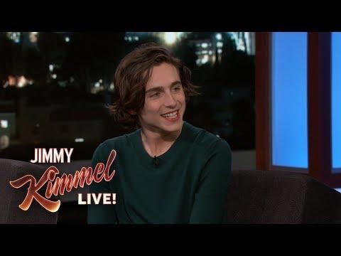 Timothée Chalamet on Oscar Nomination & Meeting Celebrities