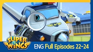 [Super Wings] Full Episodes 22~24(ENG)