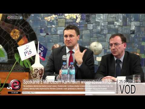 Spotkanie z Mariuszem Kamińskim wiceprezesem PiS