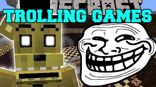 Minecraft: FIVE NIGHTS AT FREDDY'S 3 TROLLING GAMES - Lucky Block Mod - Modded Mini-Game