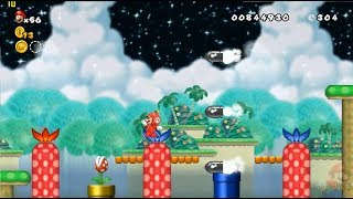 New Super Mario All Stars HD: Super Mario World REMAKE 100% Mundo 3