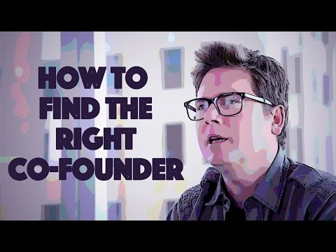 How to Find the Right Co-Founder