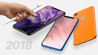 2018 iPhone XR/XS Plus Leaks! Apple Pencil & 512GB Support!