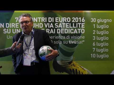 RENATO FARINA, EUTELSAT - EURO 2016 IN UHD VIA SATELLITE