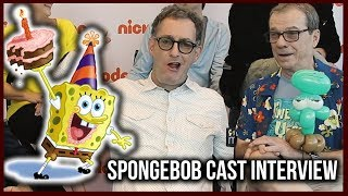 SPONGEBOB Cast Talk Memes, 20th Anniversary & More | Exclusive Interview