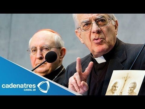 Presentan plan de canonizaciones en el Vaticano