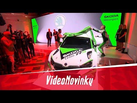 Představení nového zázemí a nové Fabie R5 týmu Škoda Motorsport