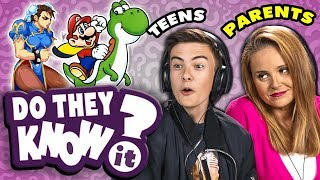 Do Teens Know Their Parent's Favorite Video Game? | React: Do They Know It?