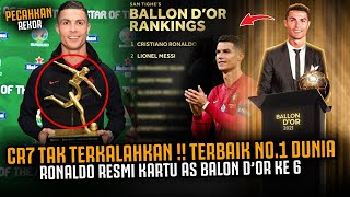 RESMI RONALDO KARTU AS BALON DOR KE 6 ‼️  Bukti CR7 Pemain Terbaik Di Dunia Tak Terkalahkan