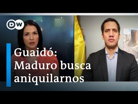 Guaidó a DW: Maduro busca aniquilar a la oposición