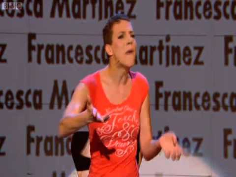 Francesca Martinez stand up