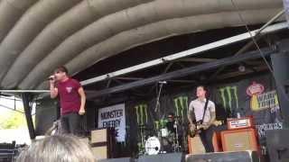 Vices - Silverstein Live 06/20/15 Vans Warped Tour, Mountain View, CA