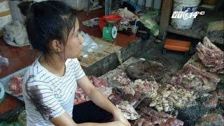 (VTC14)_Vụ người bán thịt lợn giá rẻ bị ném chất thải: Có thể xử lý hình sự