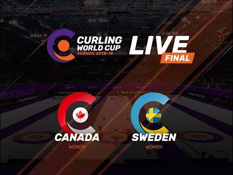 Canada v Sweden - Women's Final - Curling World Cup First Leg - Suzhou