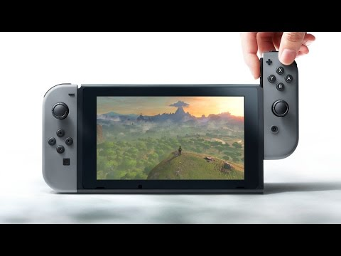 Nintendo Switch: What The First Accessories Reveal - CES 2017
