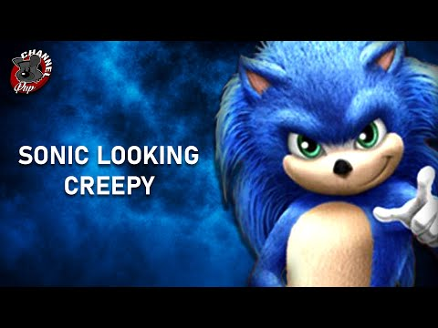 BEST LOOK at Sonic Movie Design