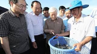 Tổng bí thư, Chủ tịch nước làm việc ở Kiên Giang
