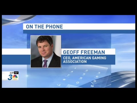 "KSNV NBC: AGA President and CEO Geoff Freeman: ""NHL's Move Prove Gambling and Sports Can Co-Exist"""