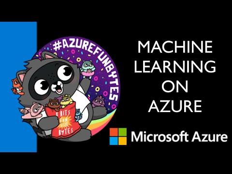 AzureFunBytes Episode 34 - Intro to @Azure Machine Learning