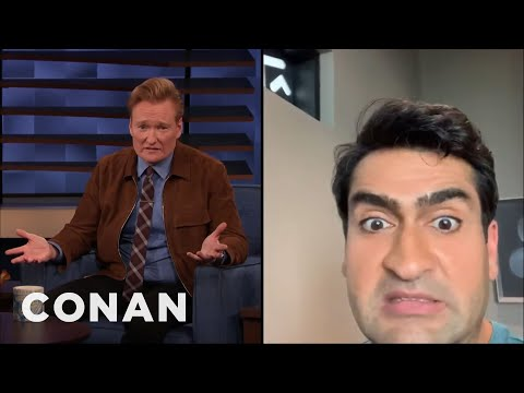 Kumail Nanjiani Apologizes For Missing His CONAN Appearance - CONAN on TBS