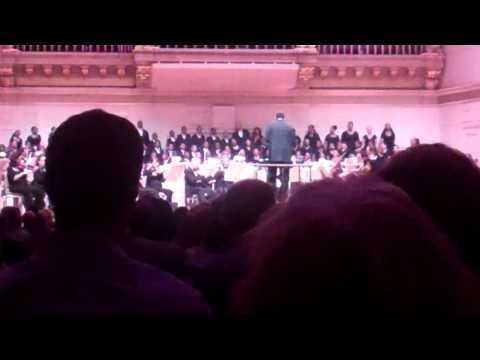 Boston Renaissance Charter Public School Choir WOWS the Boston Pops