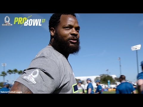 """""""Warming up. Getting My Dez Bryant On"""" Michael Bennett Mic'd Up at the Pro Bowl 