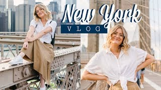 BROOKLYN BRIDGE + DUMBO ADVENTURES | New York Vlog