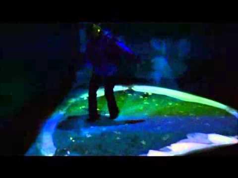 AdVis Interactive Projection - Custom Developed Penguin Effect
