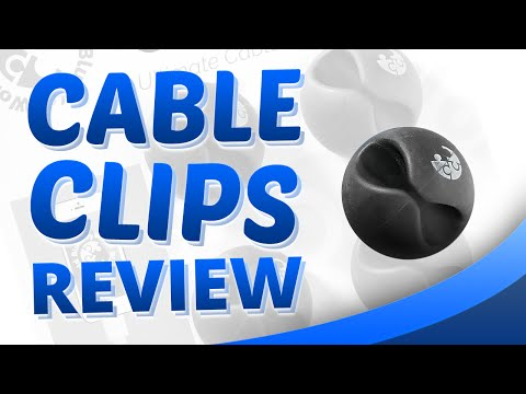 Cable Clips Review Blue Key World - Use our Cable Clips to solve cable management problems anywhere