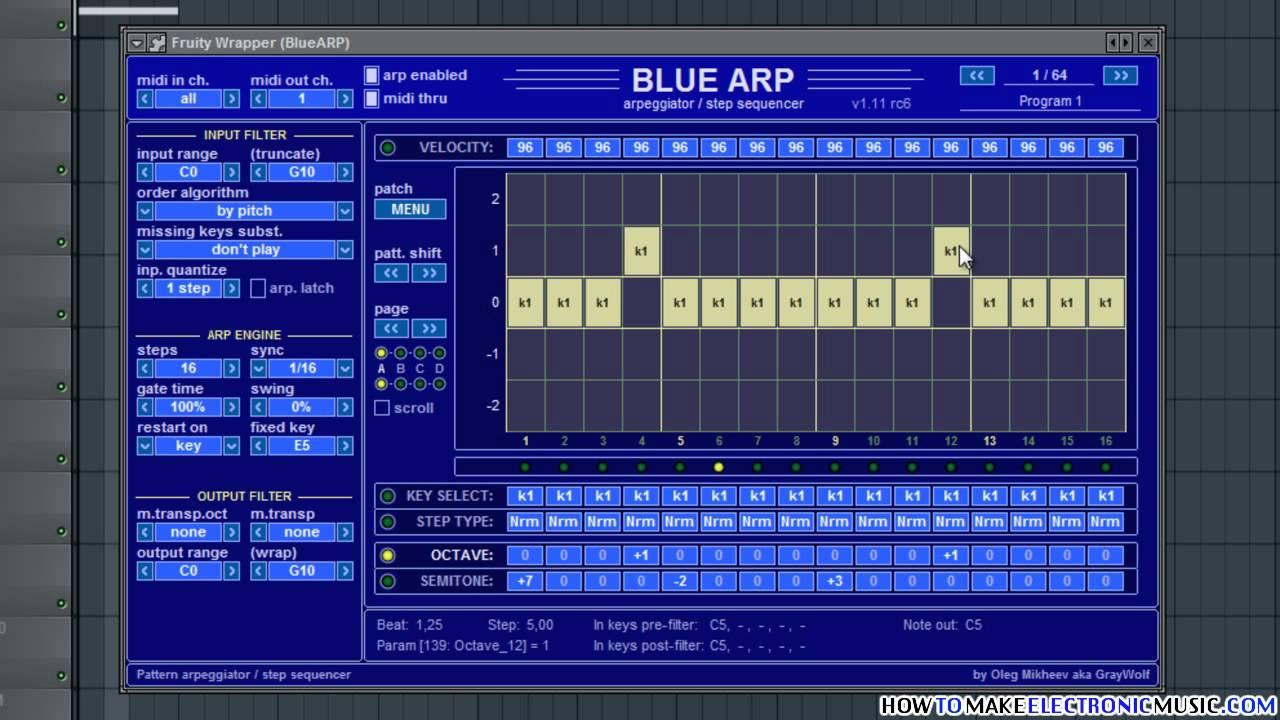 Bluearp vst download