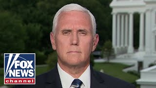 Pence reacts to volatile Barr hearing, defends federal officers in US cities