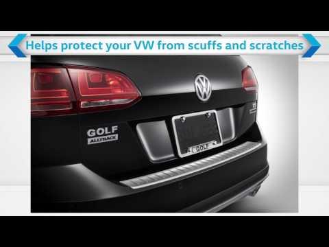 Volkswagen Accessories - Rear Bumper Protector