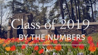 By the Numbers: Class of 2019 video