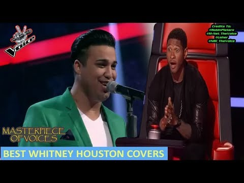 WHITNEY HOUSTON COVER AUDITIONS IN THE VOICE