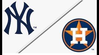 New York Yankees vs Houston Astros | ALCS Game 1 Full Game Highlights