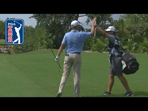 Patton Kizzire holes out for second-straight eagle at Mayakoba 2018