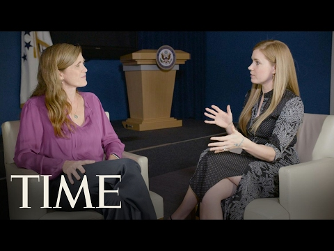 Amy Adams & Samantha Power On Art And Diplomacy   The Influencers   TIME