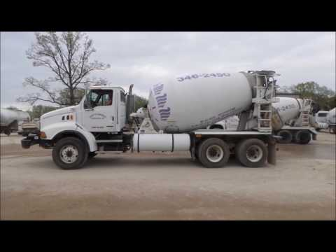 2006 Sterling LT8500 ready mix truck for sale | no-reserve Internet auction May 25, 2017
