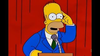 Homer Becomes Intelligent!Try Not To Laugh Challenge