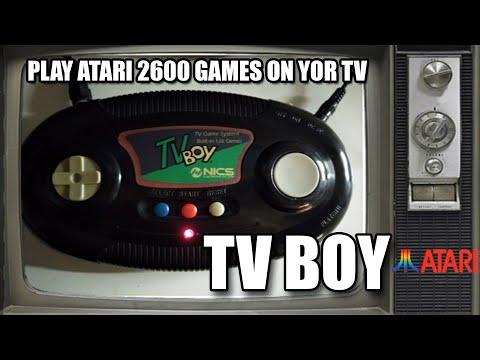 TV BOY ATARI 2600 TOP 100 GAMES