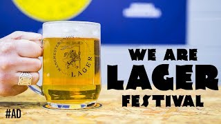 Busting myths about lager with We Are Lager festival! #ad | The Craft Beer Channel