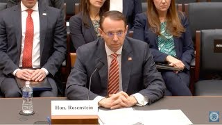 House Judiciary Committee -- Oversight Hearing w/ Deputy Attorney General Rod Rosenstein