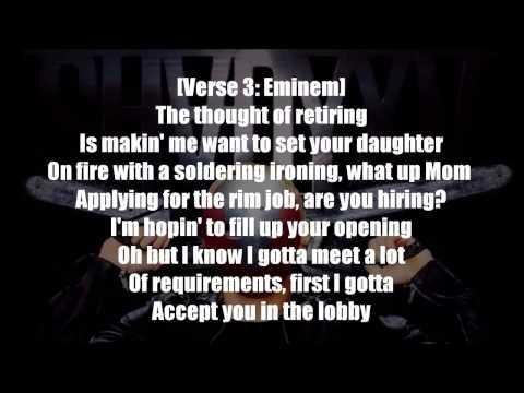 Eminem - Psychopath Killer ft.  Slaughterhouse & Yelawolf Lyrics