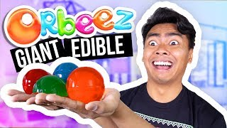 DIY GIANT EDIBLE ORBEEZ! (How To Make)