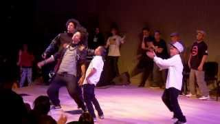 LES TWINS vs ART OF TEKNIQUE | City Dance Live | Battle at SFJazz