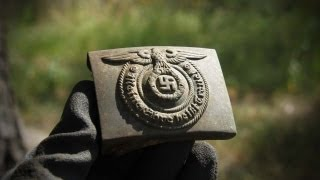 WWII Metal Detecting - German Panzer and SS - Discover History on
