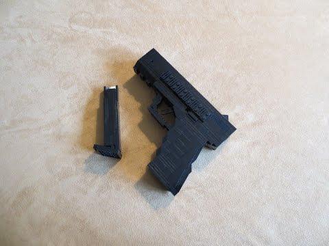 Lego Glock 17 Youtube Musicbaby