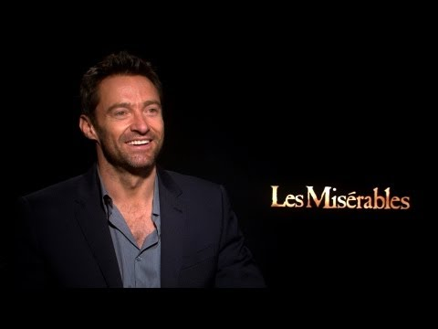 'Les Misérables' Hugh Jackman Interview
